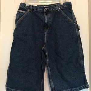 Calvin Klein Denim Carpenter Shorts